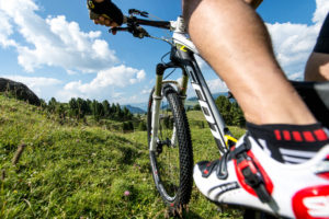 Mountainbike sull'Alpe di Siusi