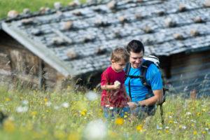 Escursioni con bambini sull'Alpe di Siusi