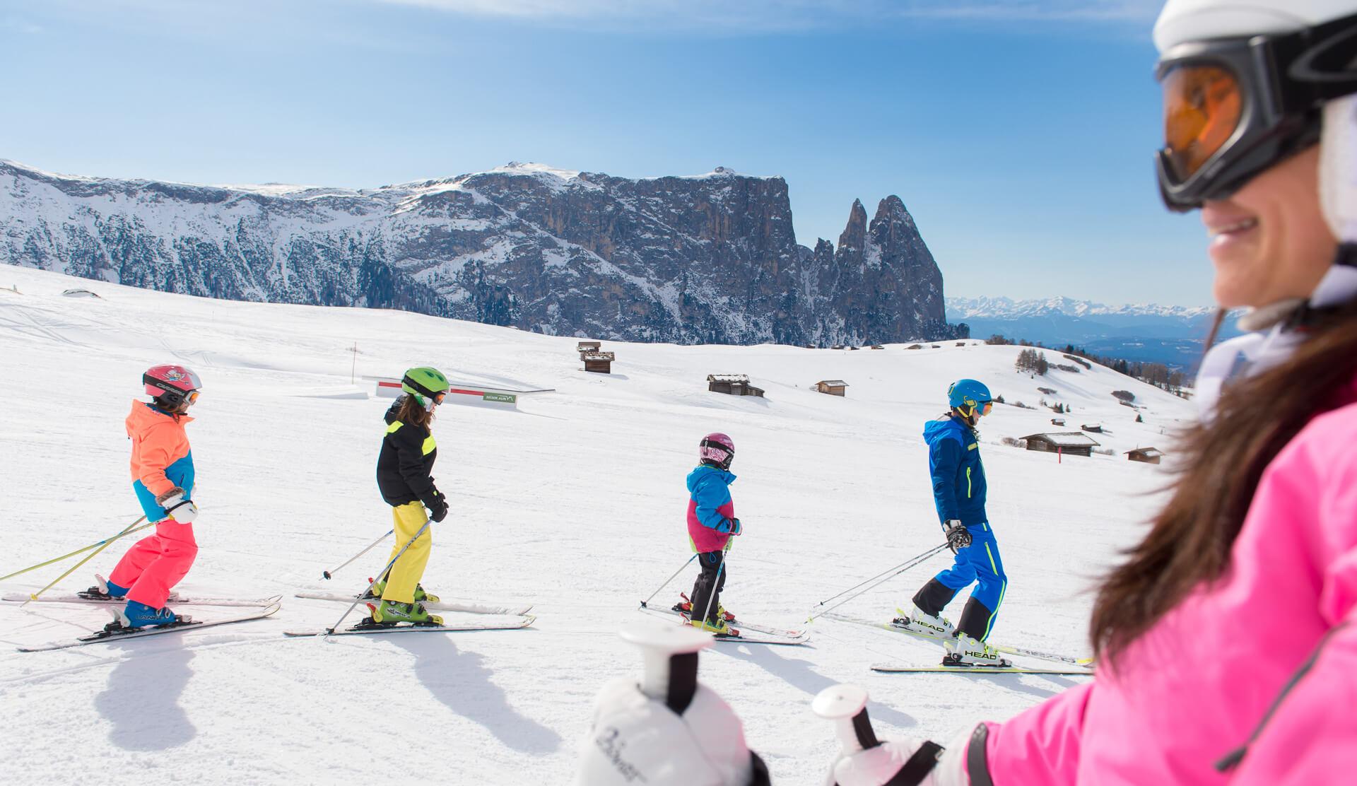 Winterurlaub Seiser Alm/ Dolomiten
