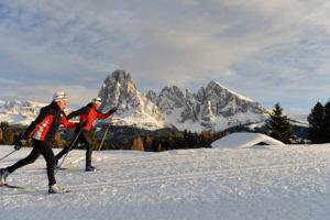Sci di fondo, slittino e sci alpinismo nelle Dolomiti