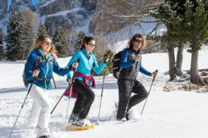 Con le ciaspole sull'Alpe di Siusi