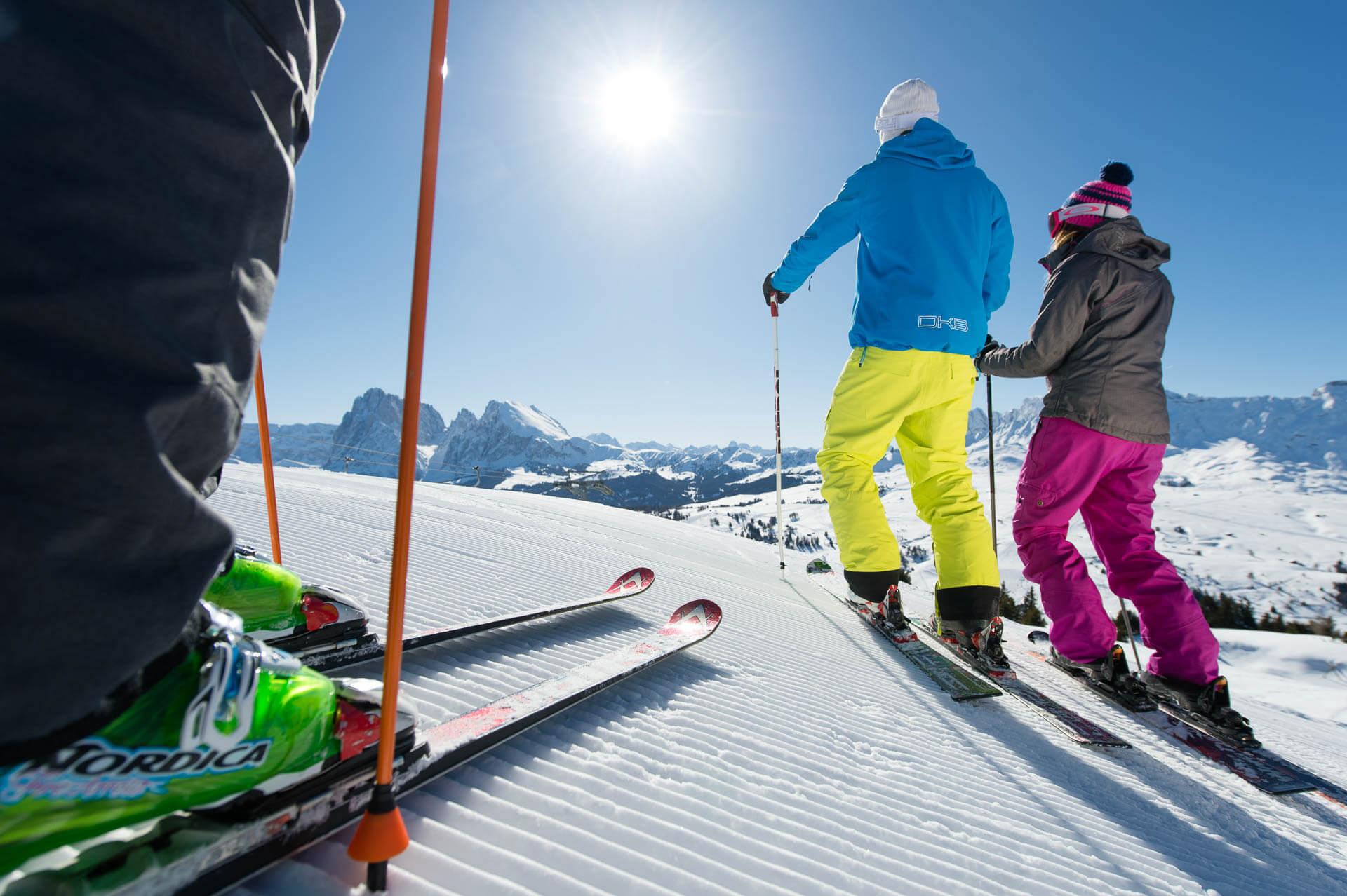 Vacanze sciistiche sull'Alpe di Siusi