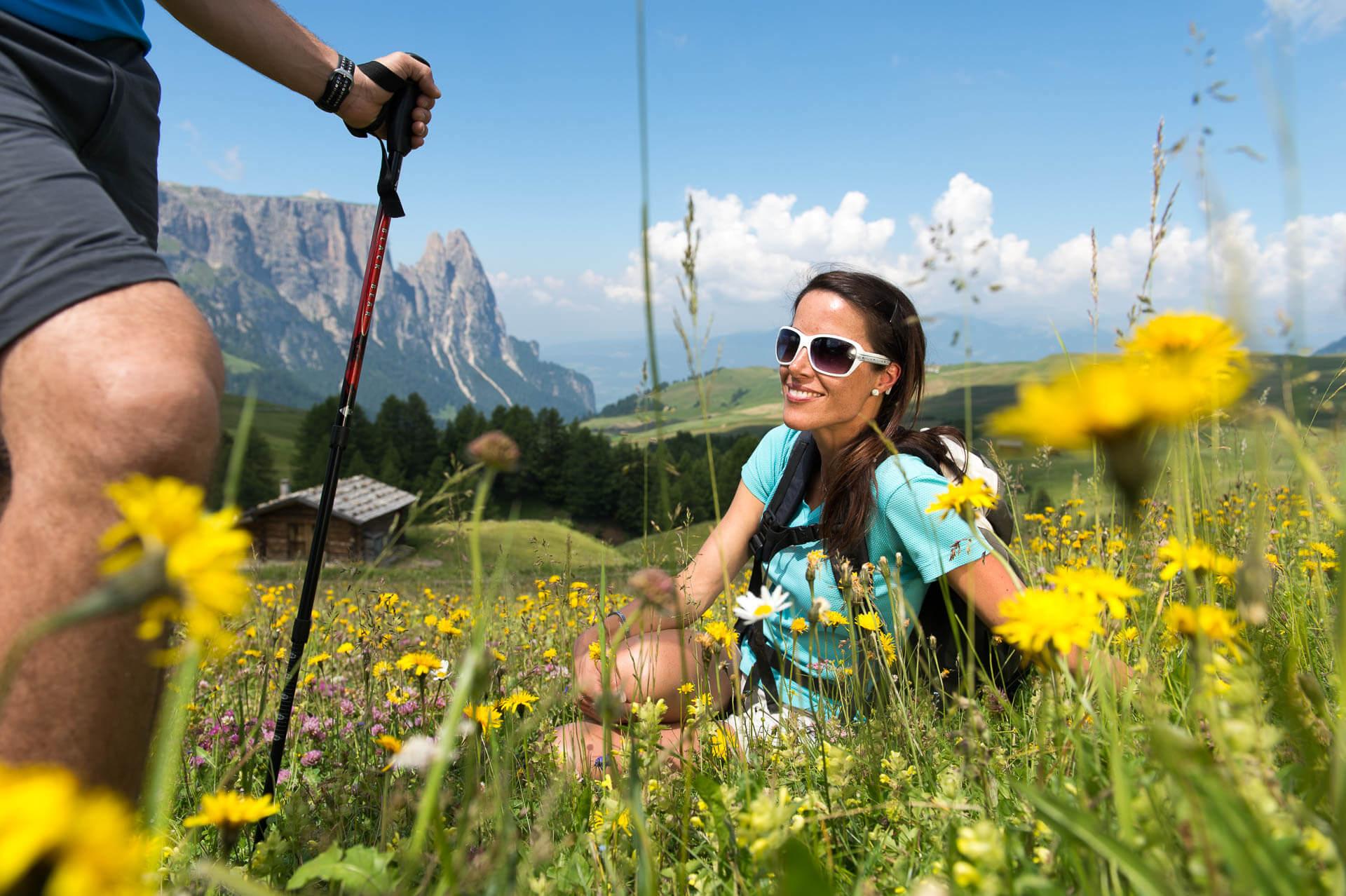 Vacanze attive nella splendida natura delle Dolomiti - Escursioni sull'Alpe di Siusi
