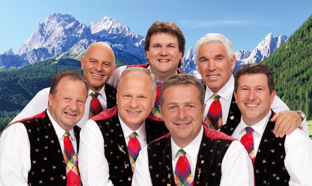 """il gruppo musicale """"Kastelruther Spatzen"""""""